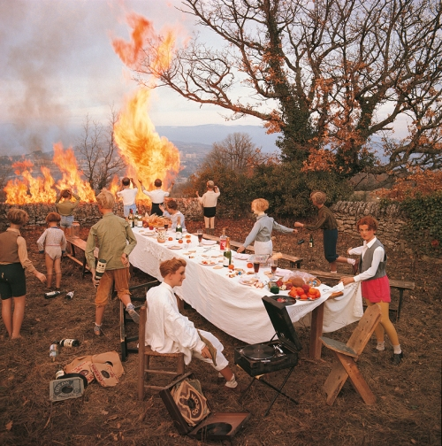 Bernard Faucon - Le Banquet, 1978